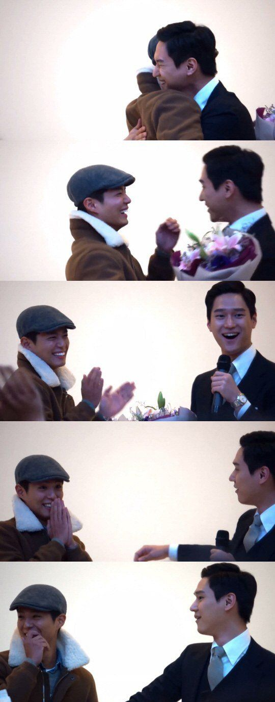 Go Kyung Pyo and his fans are left speechless by Park Bo Gum's surprise | allkpop
