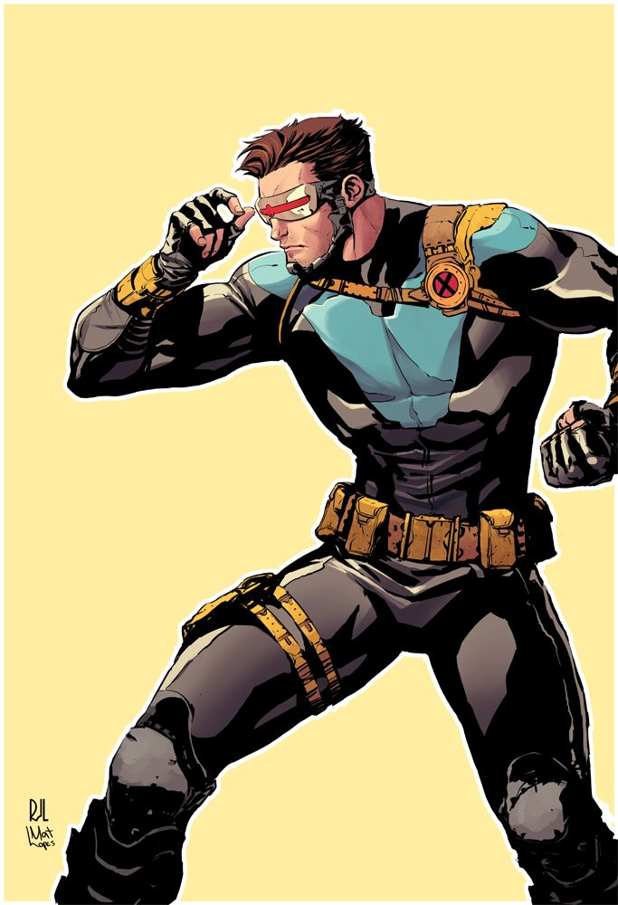 Cyclops by Rafael DeLatorre, colors by Mat Lopes