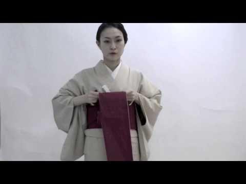着物に合わせてもOK♪カジュアルな「半幅帯」の結び方と素敵なコーディネート | キナリノ