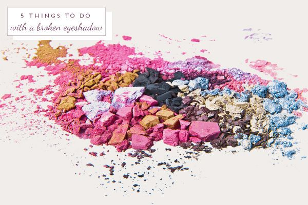 5 things to do with a broken eyeshadow | http://www.ohthelovelythings.com/2013/07/5-things-to-do-with-broken-eyeshadow.html?utm_source=feedburner_medium=feed_campaign=Feed%3A+OhTheLovelyThings+%28Oh+the+lovely+things%29