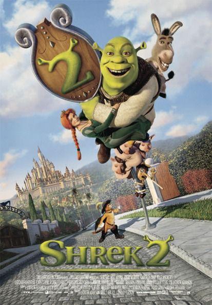 Shrek 2 Poster Shrek Animated Movie Posters Animated Movies