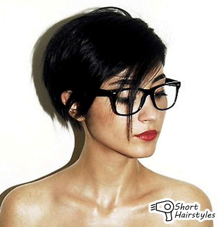 Short hairstyles for women with glasses 2014 preference among women