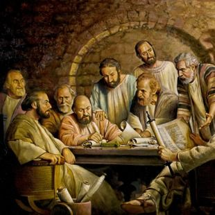 """1st Century Governing Body - in Jerusalem was made up of older men ie.(elders) and apostles. Inspired by God's spirit, they wrote letters to the various congregations, telling the Jews and Gentiles of the """"necessary things"""" Christians should be doing. Acts 15:12-29"""