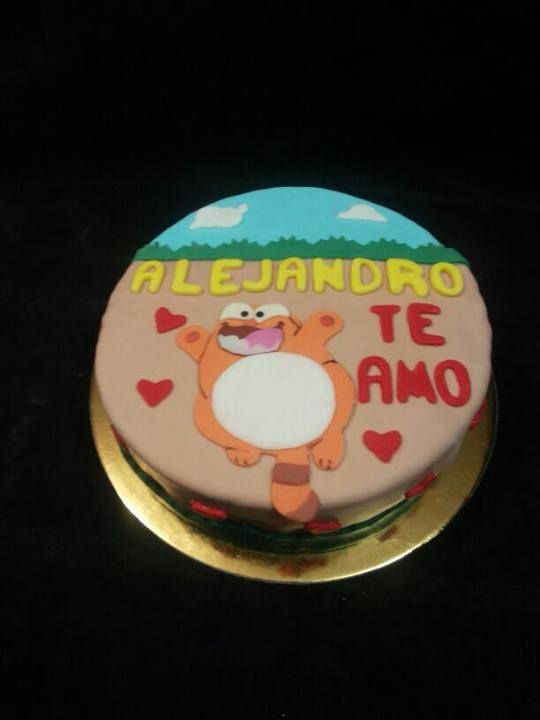 A fan-made Legcat cake!