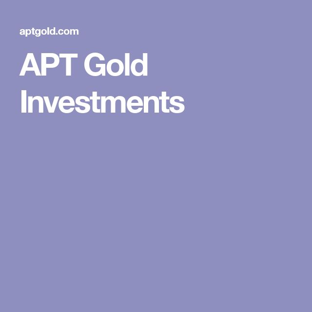 APT Gold Investments