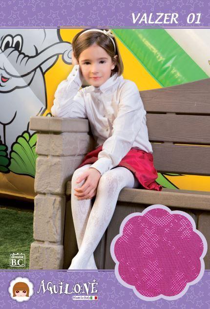 #COLLEZIONE #Moda #FW14-15 AQUILONE By #CALZEBC.  #Calze & #collant per #bambina da 0-14 anni, #AQUILONE : #Moda, 100% #MadeInItaly.
