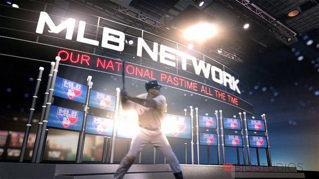 MLB Network - MLB Tonight. Big Studios motion graphics for sports
