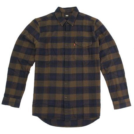 Reform Shirt in Demitasse by Levi's Skateboarding