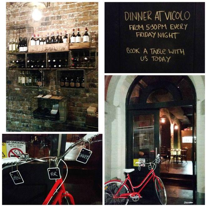 vicolo cafe, cafes in kent street sydney, italian restaurants sydney, great coffee sydney