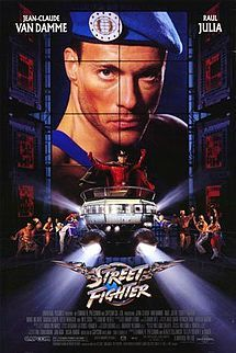 STREET FIGHTER (1994): Col. Guile and various other martial arts heroes fight against the tyranny of Dictator M. Bison and his cohorts.