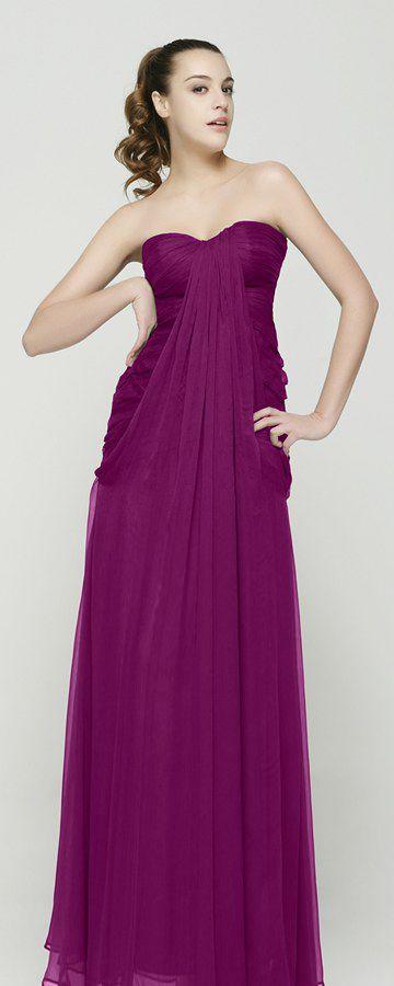 Magenta bridesmaid dresses sweetheart plum bridesmaid gowns long bridesmaid styles