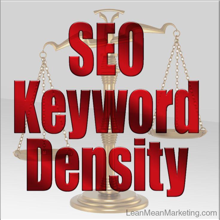 seo keywords density