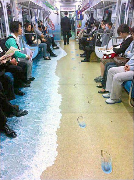 Subway Floor Graphic  www.ssar.com