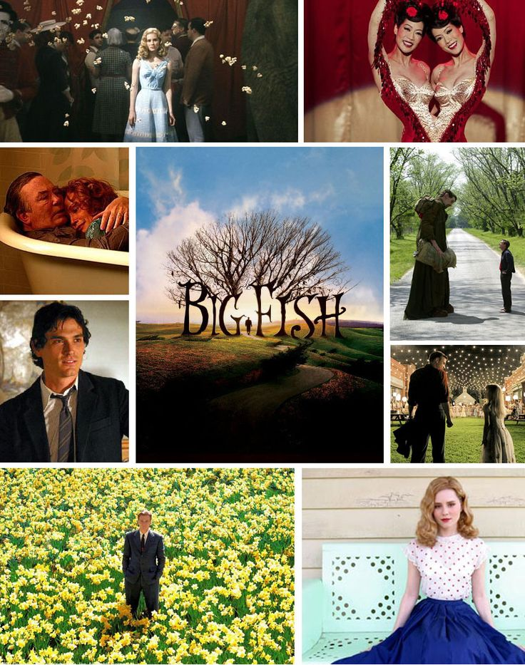 Big Fish is a 2003 American fantasy adventure film based on the 1998 novel of the same name by Daniel Wallace. The film was directed by Tim Burton.