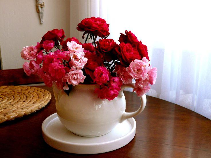 Do vázy..