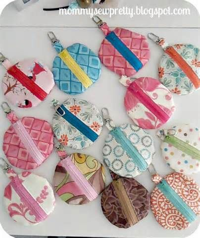 craft ideas fabric 221 best sew wallets tissue covers key fobs images on 1533