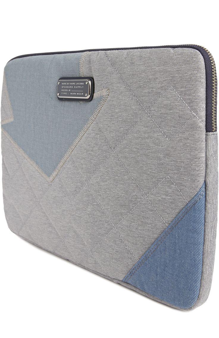 Marc by Marc Jacobs Сумка для ноутбука Crossby Quilt Синий 8 200 Р.