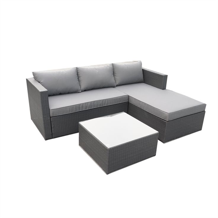 Find Mimosa 3 Piece Silverleaves Lounge Setting at Bunnings Warehouse. Visit…