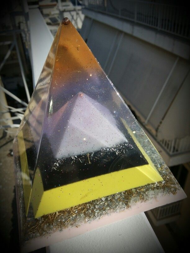 Orgonite pyramid energy