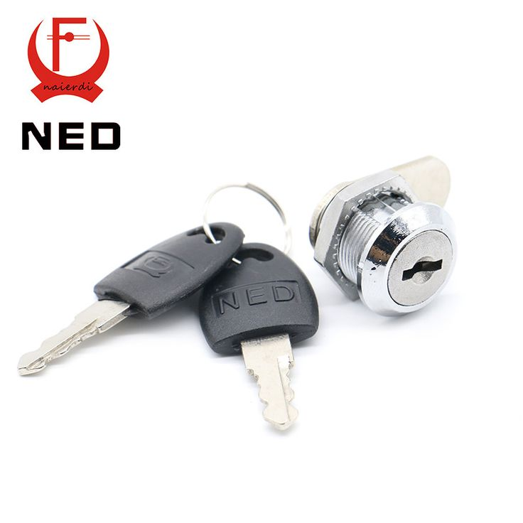 NED103 Series Cam Cylinder Locks Door Cabinet Mailbox Drawer Cupboard Locker Security Furniture Locks With Plastic Keys Hardware