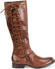 Born Boots with lace up detail <3