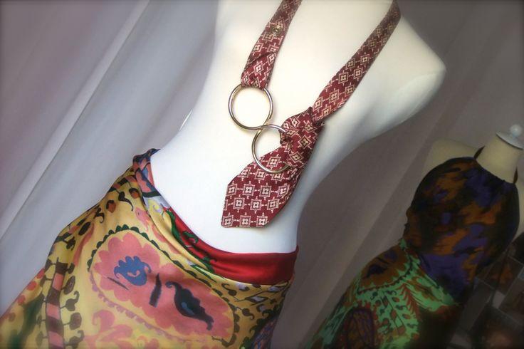 La cravatta è donna! Nuova collezione di accessori firmata Anna Guarda