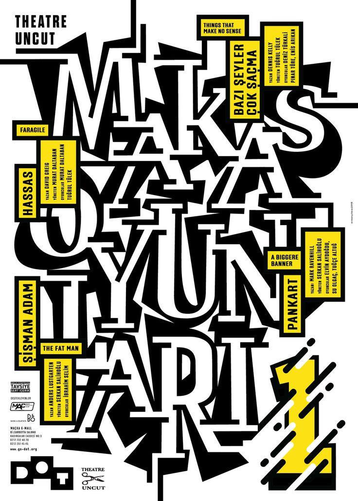 erman yilmaz - typo/graphic posters
