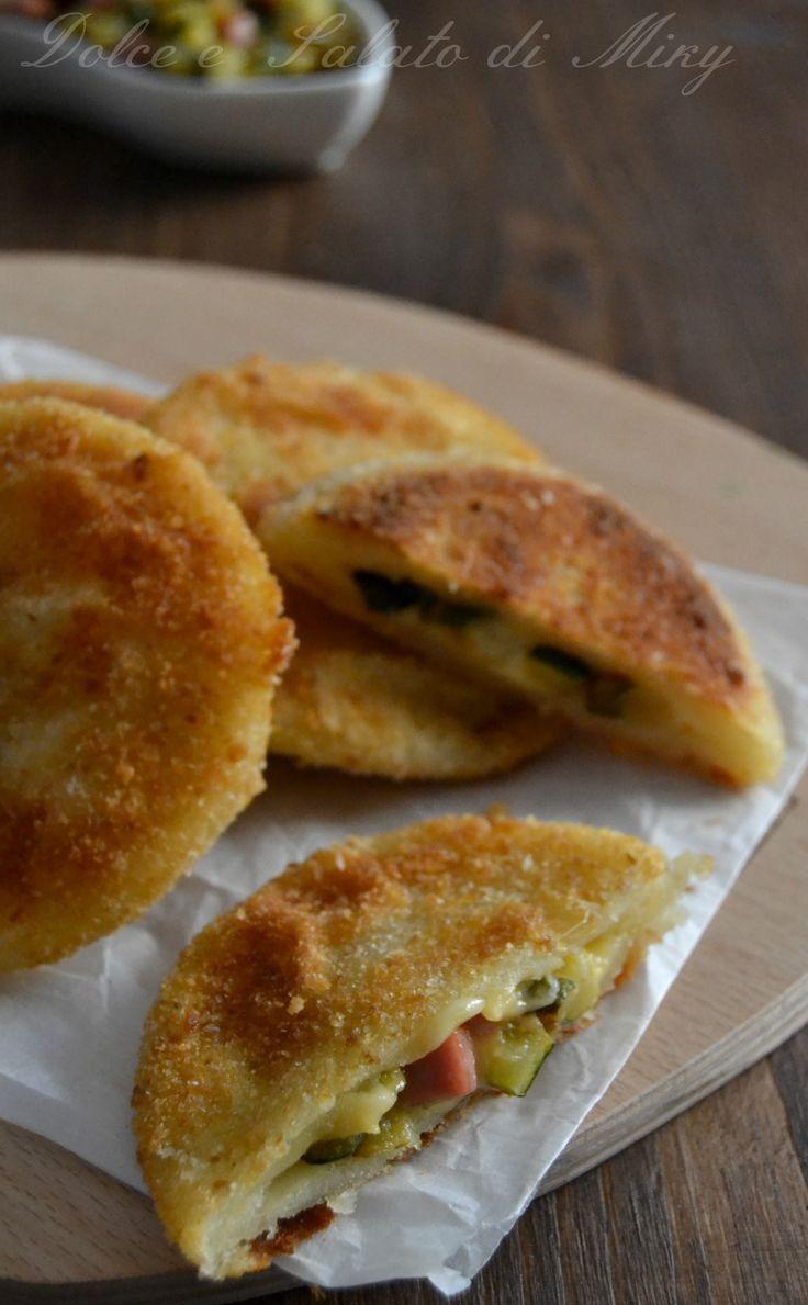 ricetta sorrisi con zucchine e prosciutto| Dolce e Salato di Miky