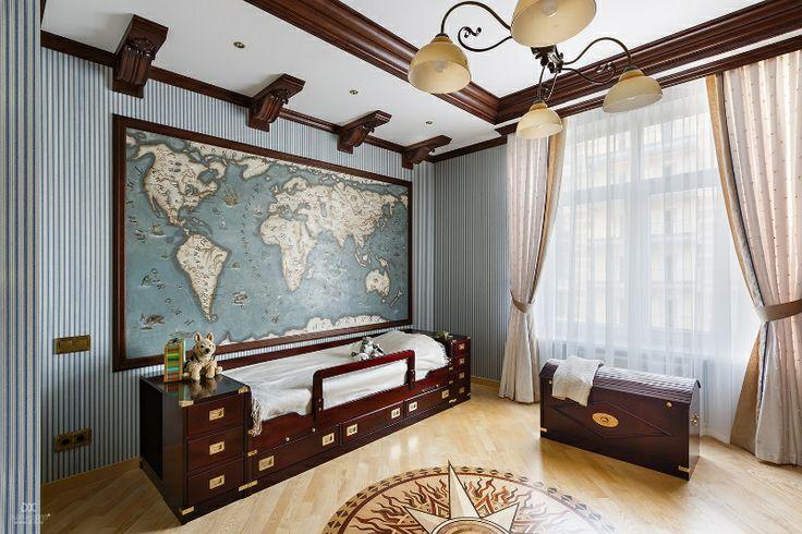 """ЖК """"Резиденция на Суворовском"""", Квартира """"Изысканная сдержанность"""",300 кв.м."""