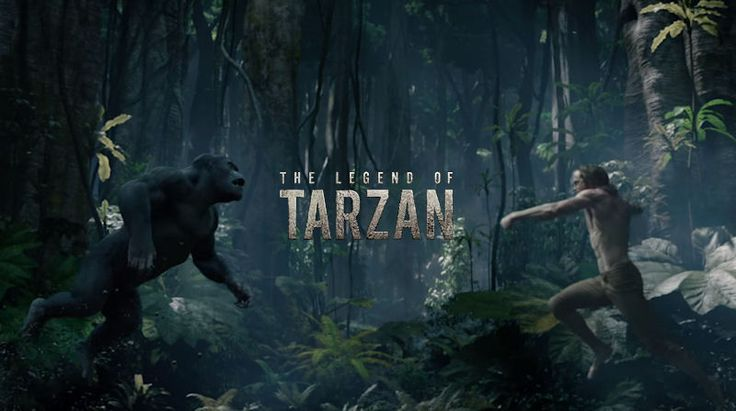 THE LEGEND OF TARZAN Trailer: Alexander Skarsgård is the Lord of the Jungle