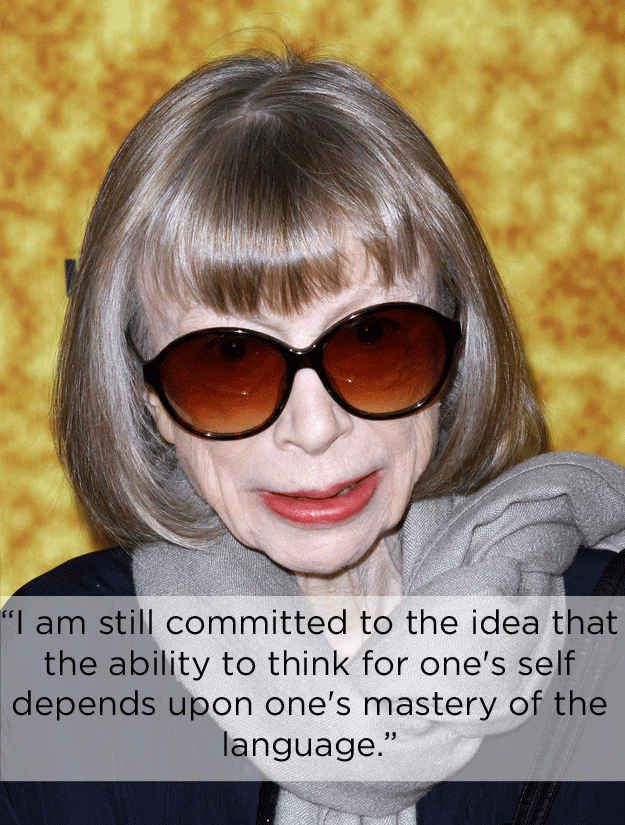 On the importance of education. | The 14 Most Eye-Opening Quotes By Joan Didion