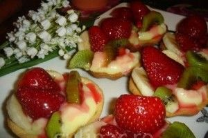 Mini-tarte cu fructe - Culinar.ro