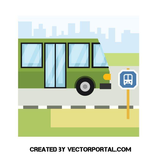 34++ London bus stop clipart ideas