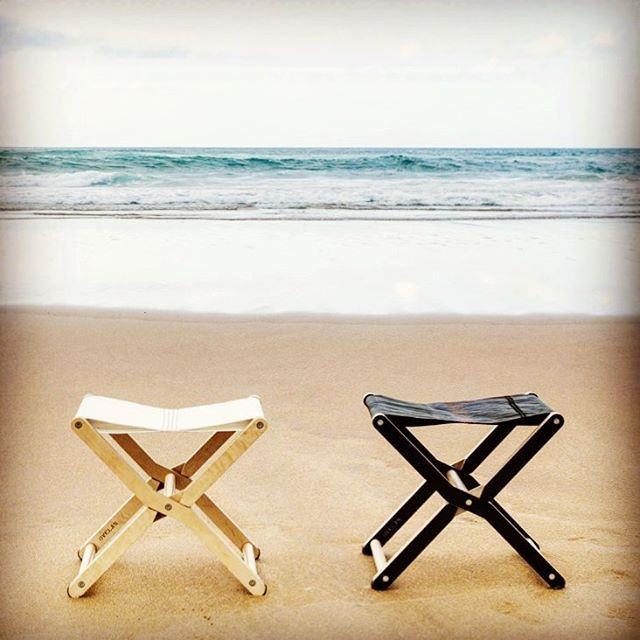 Made Of Upcycled Sail And Marine Plywood, RIS Stools Has Been Inspired By  Traditional Folding Outdoor And Beach Furniture. The Plastic Language Is  Strongly ...