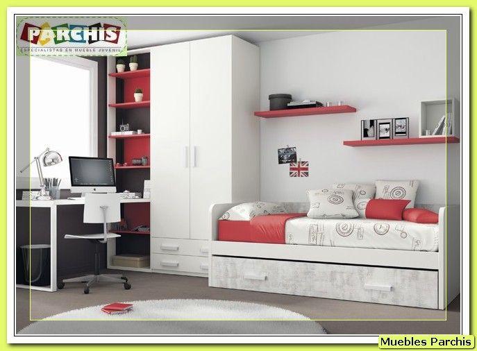 94 best images about dormitorios juveniles e infantiles - Cama nido triple ...