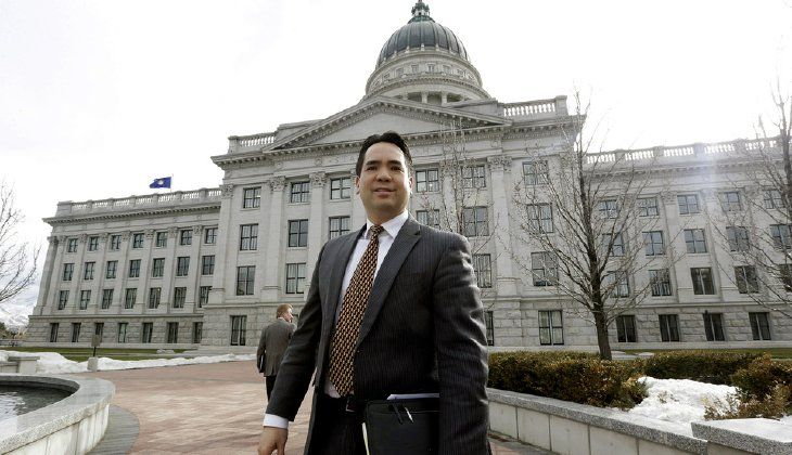 """My office is working closely with the governor's office, federal and state legislators, and San Juan County to file a lawsuit challenging this egregious overreach by the Obama administration,"" Utah Attorney General Sean Reyes said late last night. (AP Photo/Rick Bowmer, File)"