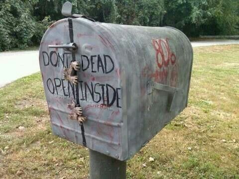 The Walking Dead Mailbox LOVE!!!!!!!!!!!!!!!!!!!!!!!!!!!!!!!!!!!!!!!!!!!!!!!!!!!!!!!!!!!!!!!!!!!!!!!!!!!!!!!!!!!!!!!!!!!!!!!!!!!
