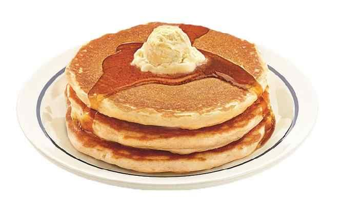 Tuesday, March 8 is free pancake day at IHOP