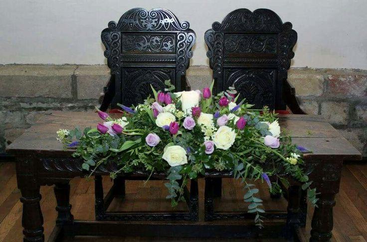 Ceremony Table Flowers