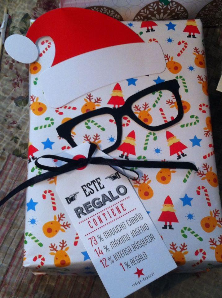 1000 ideas sobre tarjetas de navidad en pinterest - Envolver regalos de navidad ...