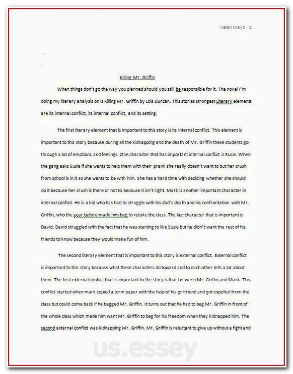 Keys to write a good analytical essay