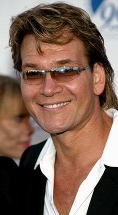 Actor Patrick Swayze attends Paramount Pictures 90th Anniversary Gala July 14 2002 in Los Angeles California