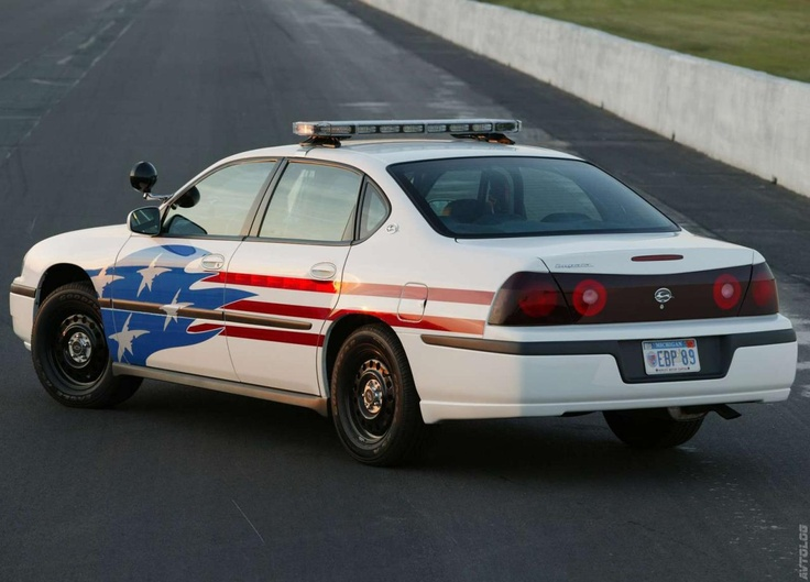 2003 Chevrolet Impala Police Vehicle