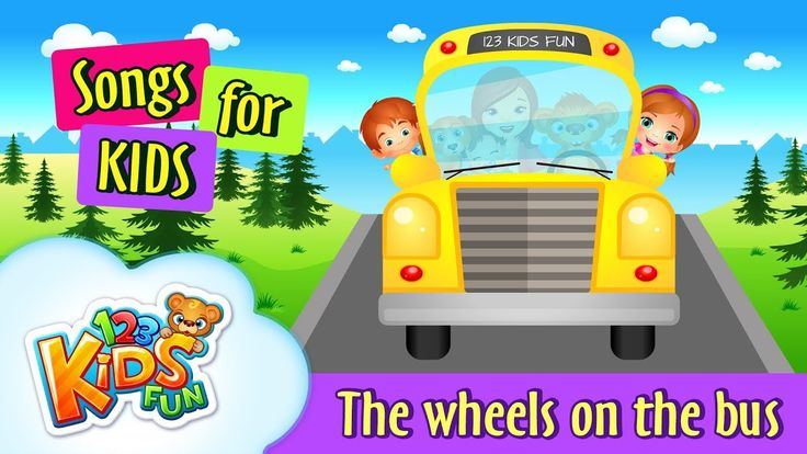 Wheels on the bus | Songs For Kids| Nursery Rhymes Songs for Kindergarte...