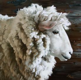 FARMHOUSE – ANIMALS – nice artwork by Leslie Peck.