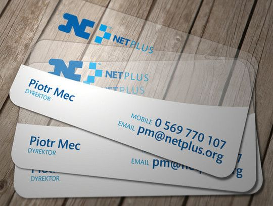 69 best business cards images on pinterest carte de visite 40 creative examples of transparent business cards free and useful online resources for designers and reheart Images