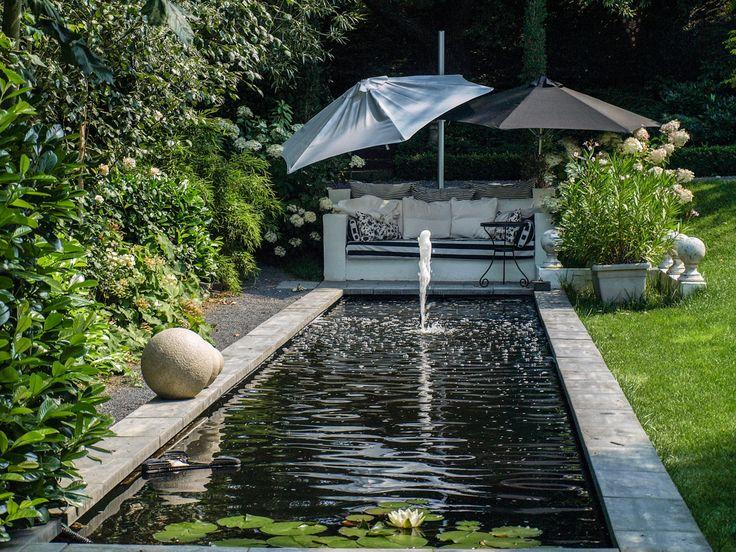 Die besten 25+ Sonnenschirm Ideen auf Pinterest Sonnenschirm für - terrassengestaltung mit wasserbecken