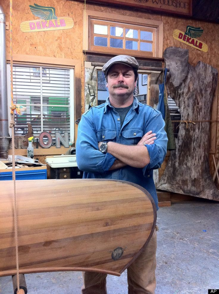 Obsessed: Woodworking. Nick Offerman blog. He sums up the obsession.