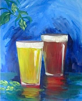 A Beer or Two *Paint Nite* Buy tickets at paintnite.com