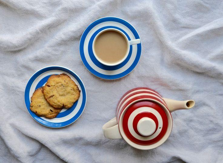 Pecan & Honey Cookies